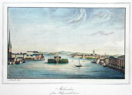 Scheele v. C. Malarsidan fran Helgeansholmen