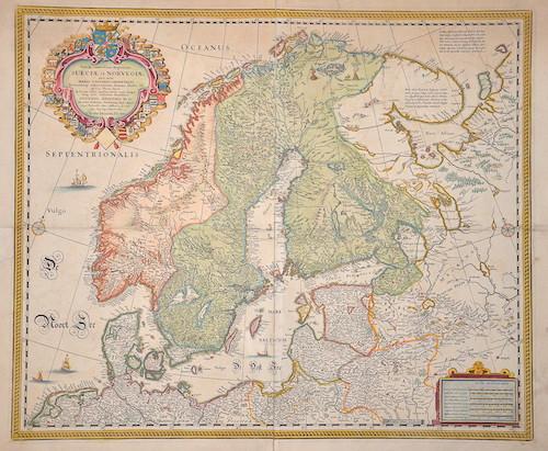 Goos  Tabula exatissima Regnorum Sueciae et Norvegiae, nec non Maris universi orientalis….