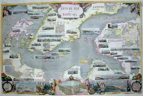 Thomas B. Picure map of the Baltic Sea