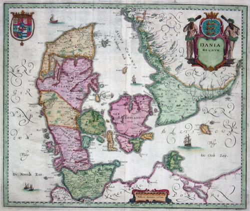 Merian Matthäus Dania regnum