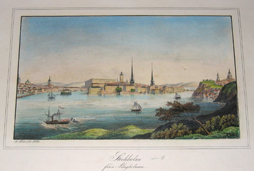 Scheele v. C. Stockholm fran Lingholmen