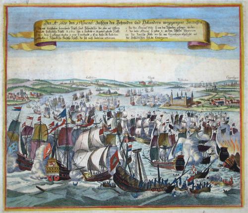 Anonymus  Das A. 1658 den i Novemb: zwischen den Schweden und Holländern vorgegangene Seetreffen