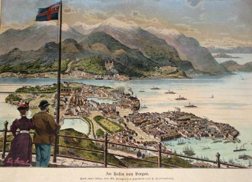 Stoltenberg F. Im Hafen von Bergen