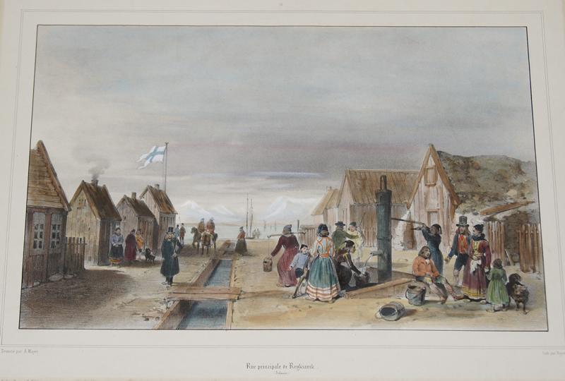 Lemercier / Levasseur  Rue Principale de Reykivik ( Islande)