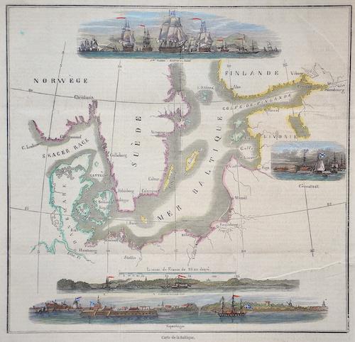 Anonymus  Carte de la Baltique