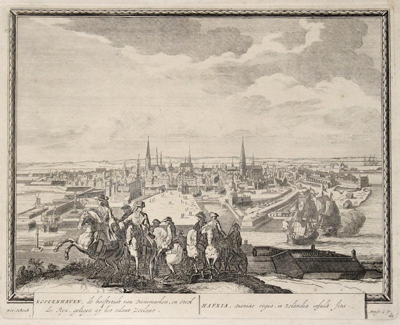 Schenk  Koppenhaven de hoofstatdt van Denemarken en..