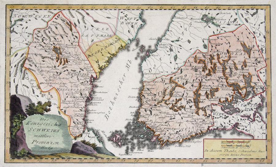 Reilly Franz Johann Joseph Des Königreichs Schweden mittlere Provinzen Nro 69.