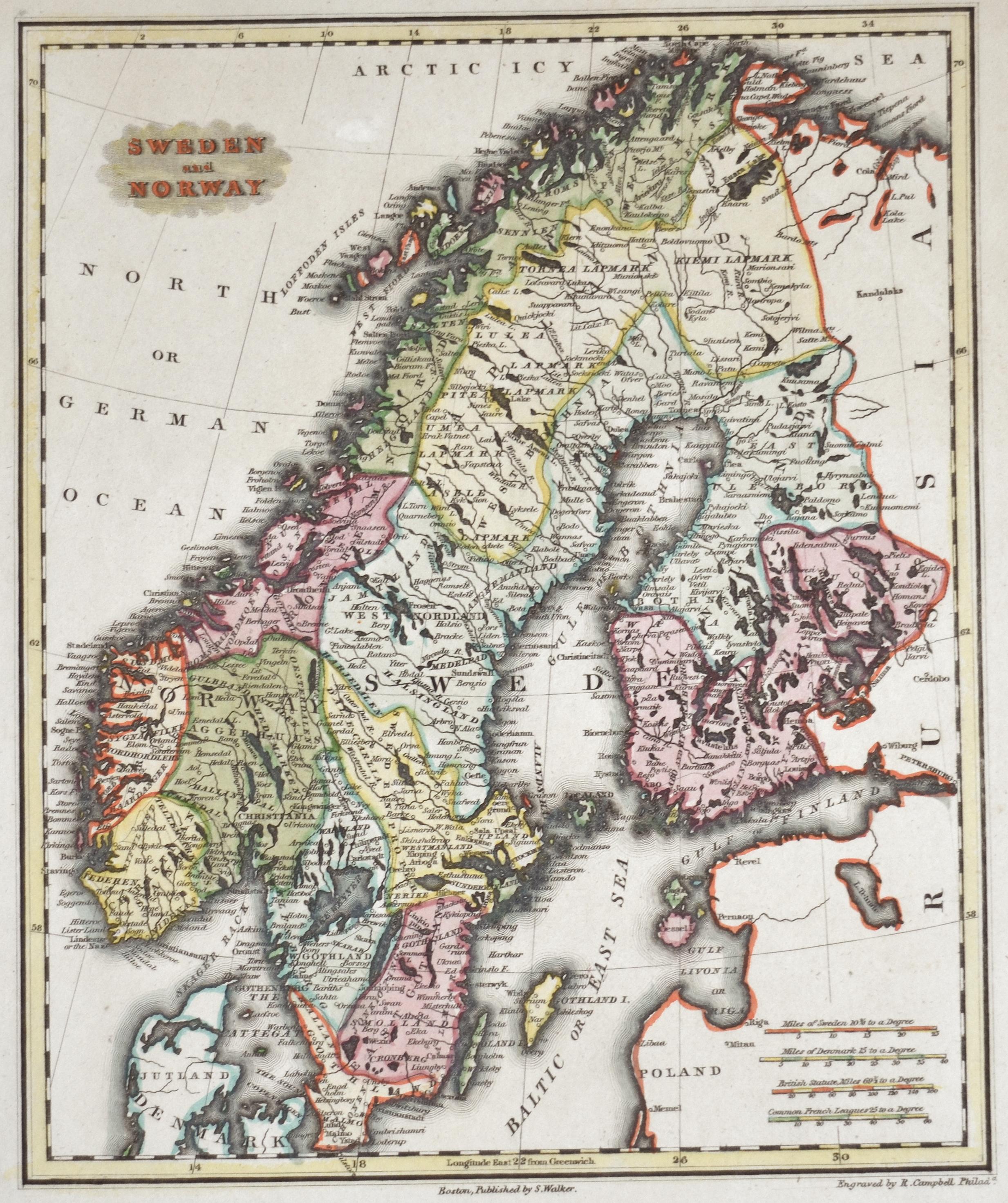 Walker  Sweden and Norway