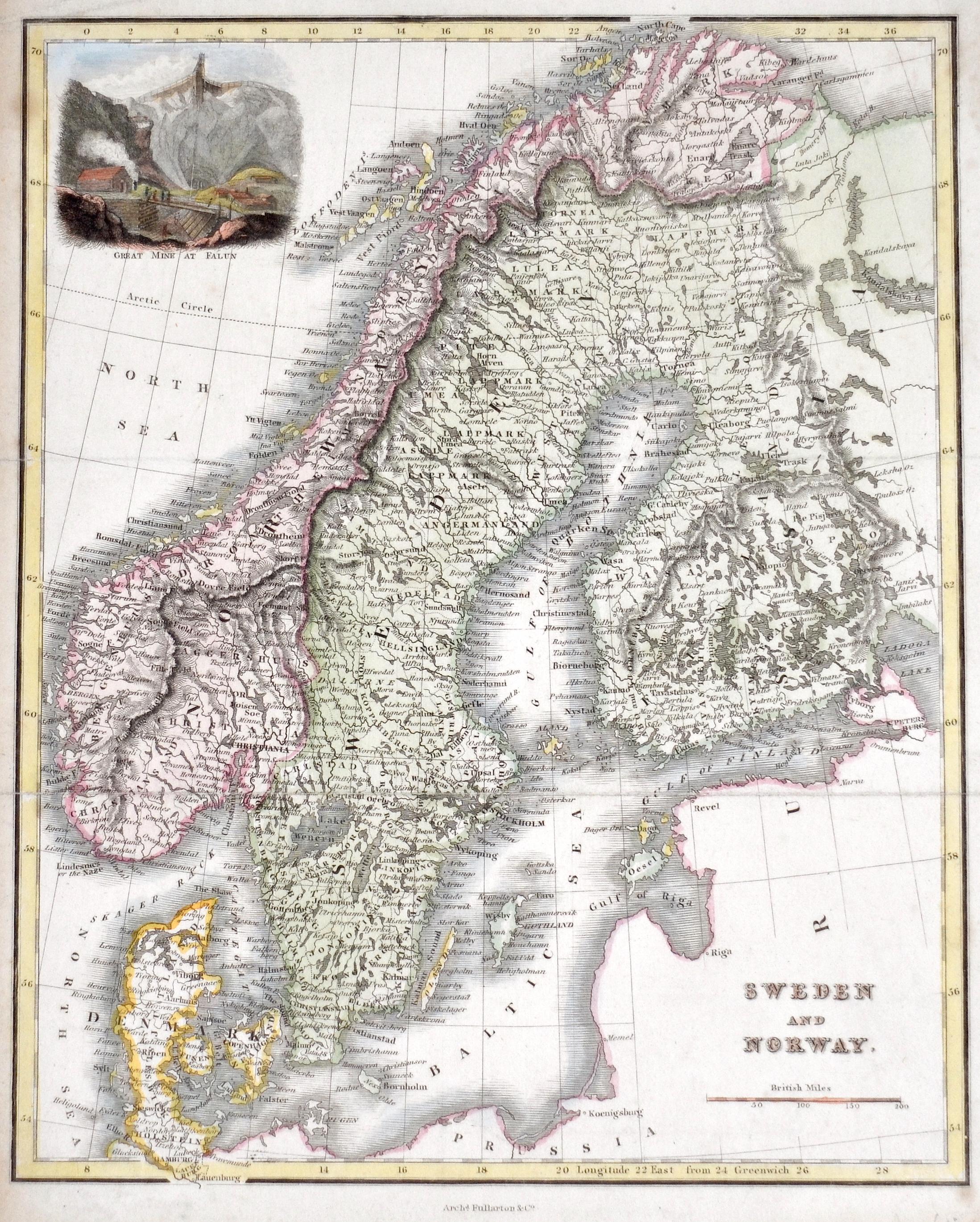 Fullarton & Co  Sweden and Norway.