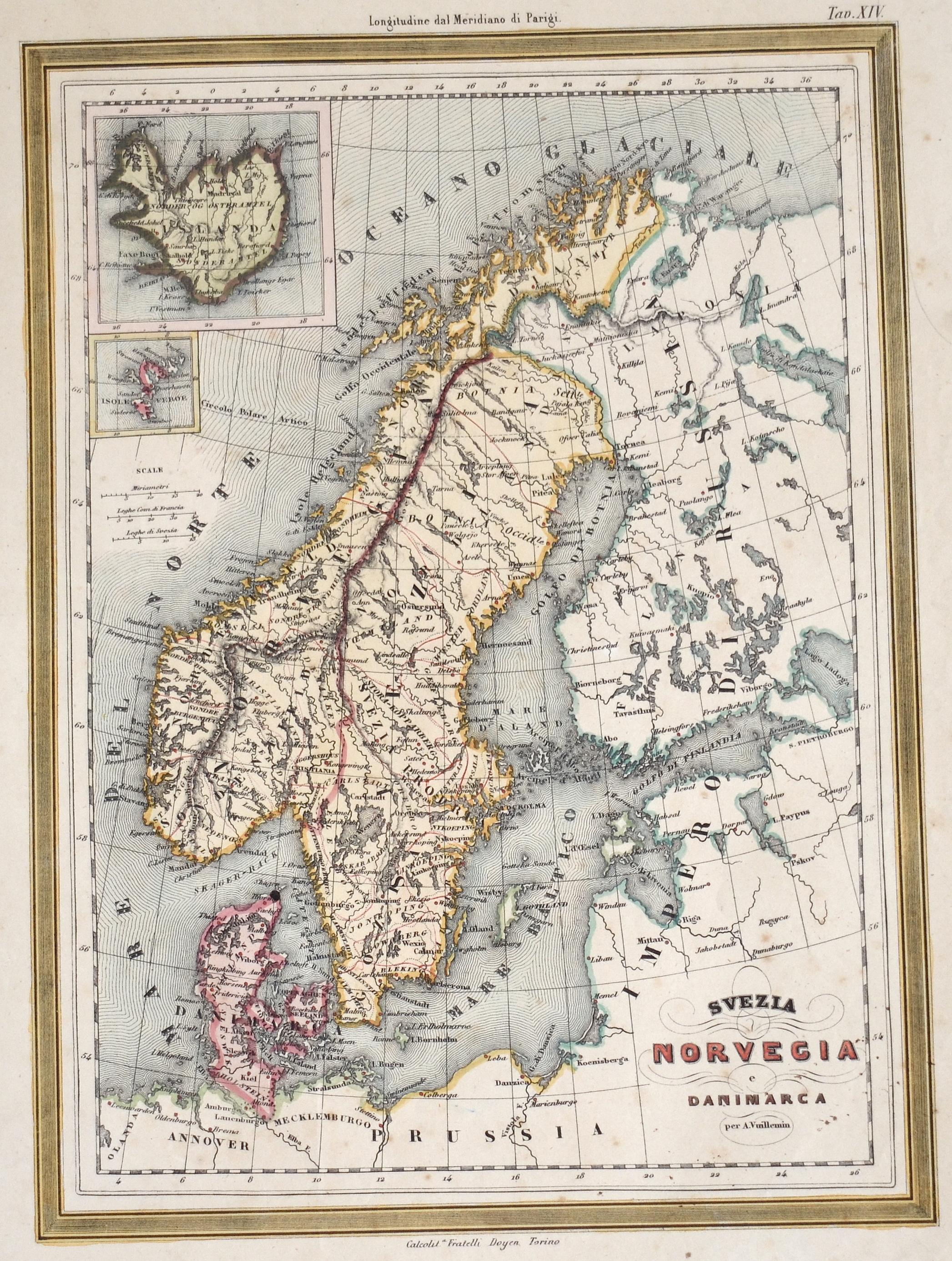Vuillemin  Svezia Norvegia e Danimarca