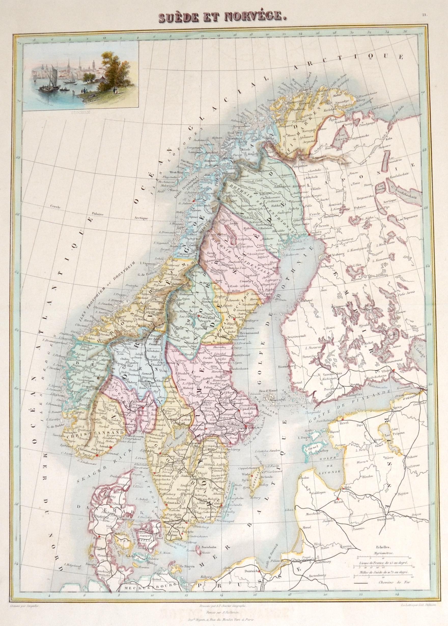 Vuillemin  Suède et Norvége.