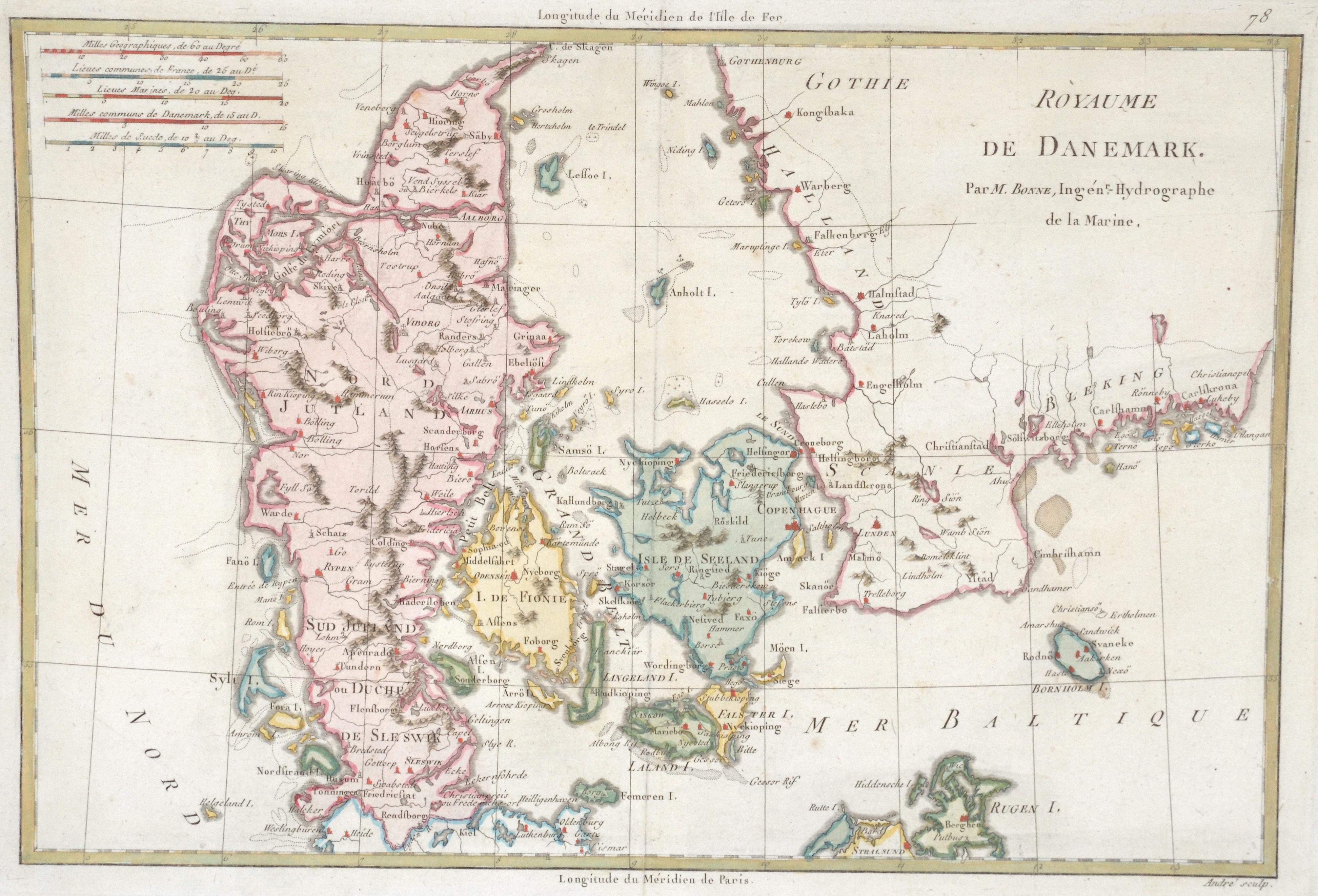 Bonne  Ròyaume de Danemark.