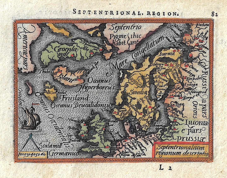 Bertius  Septentrional. Region.
