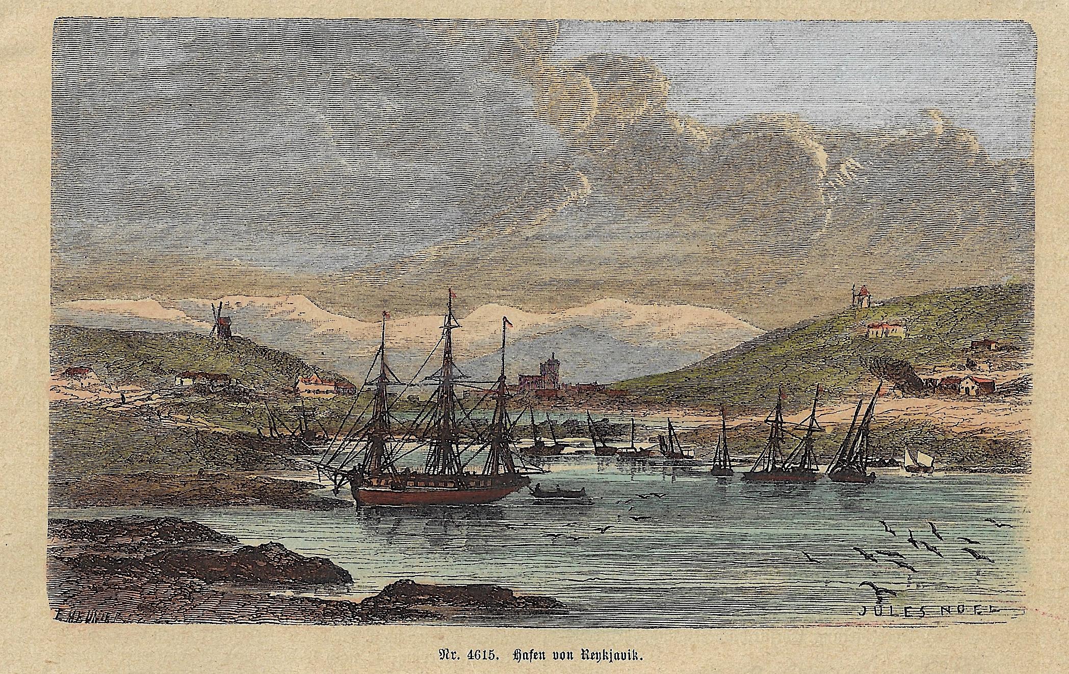 Noel  Hafen von Reykjavik.