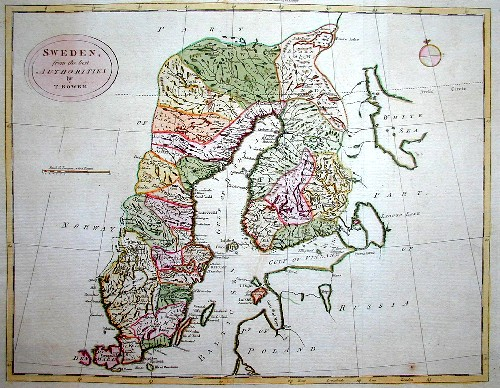 Bowen  Sweden, from the best authorities by T. Bowen