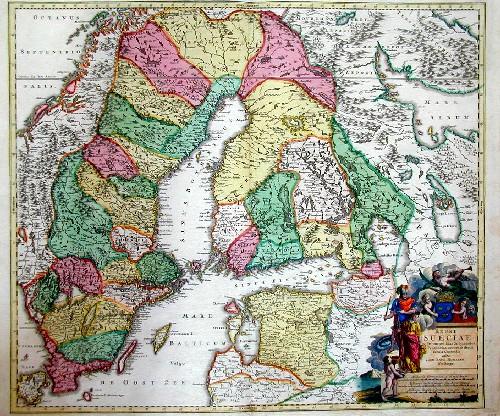 Homann Johann Babtiste Regni Sueciae