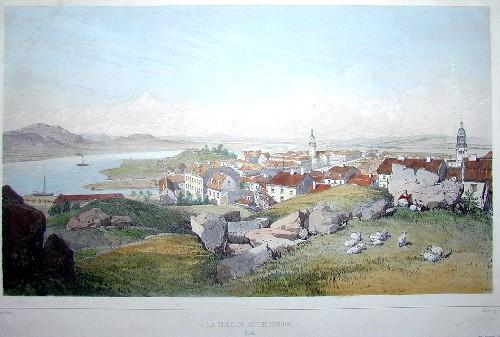 Ciceri  La ville de Gothembourg