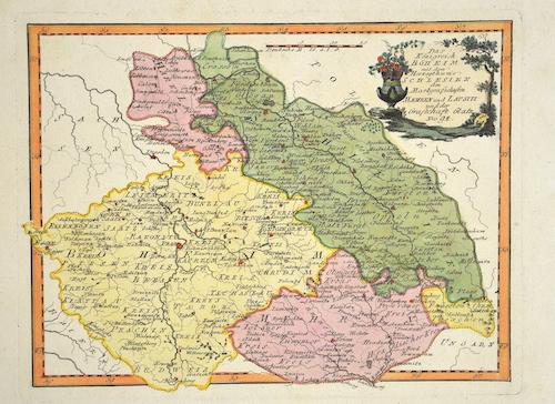 Reilly  Das Königreich Böheim mit dem Herzugthume Schlesien den Markgrafschaften Maehren und Lausitz und der Grafschaft Glatz