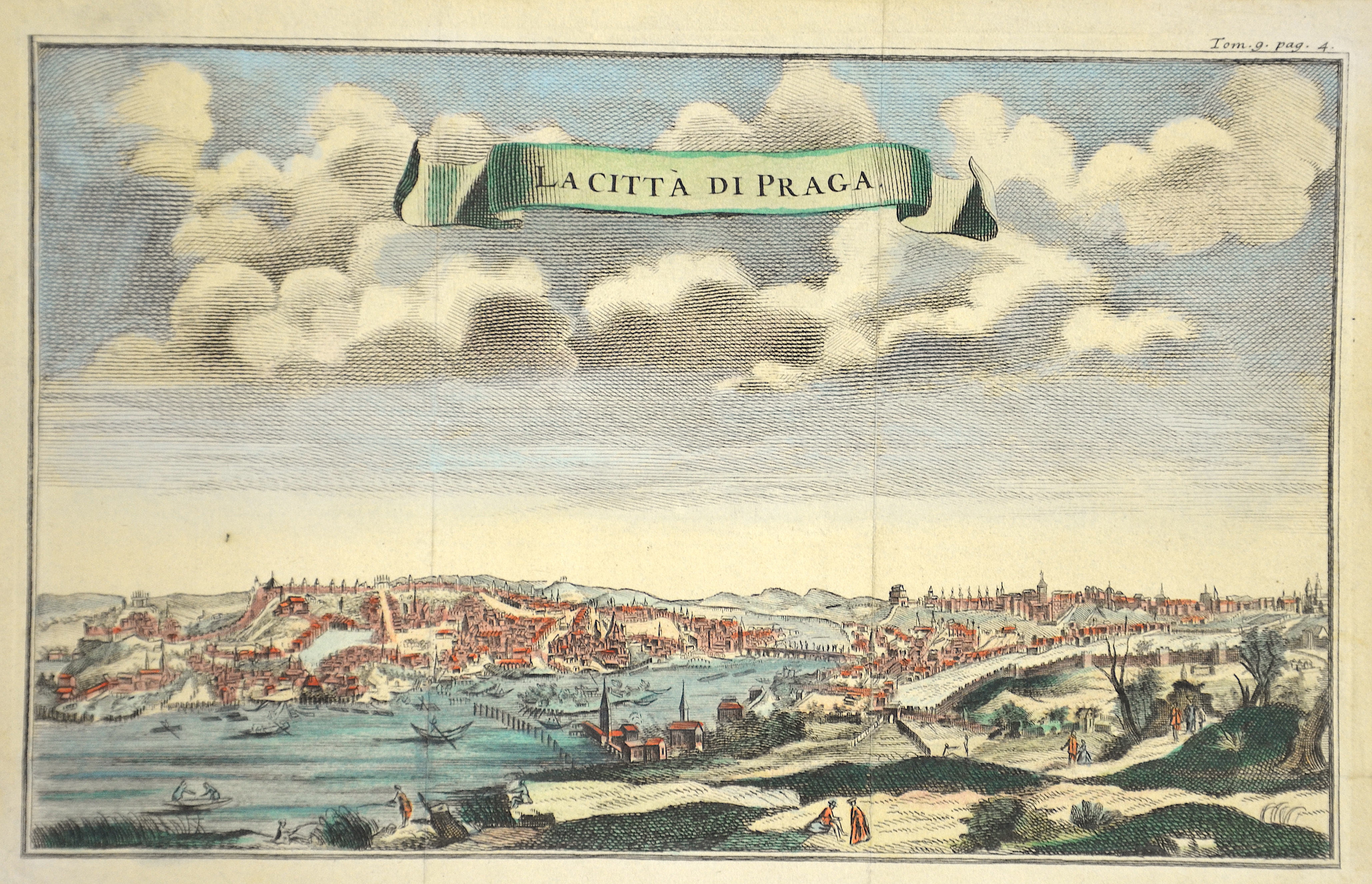 Anonymus  La citta di Praga