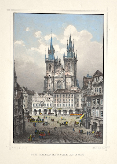 Kolb M. Die Theinkirche in  Prag