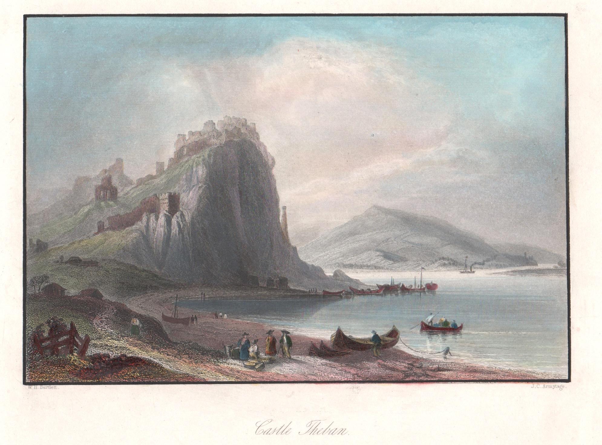 Armytage J. C. Castle Theban. / Chateau de Theben.