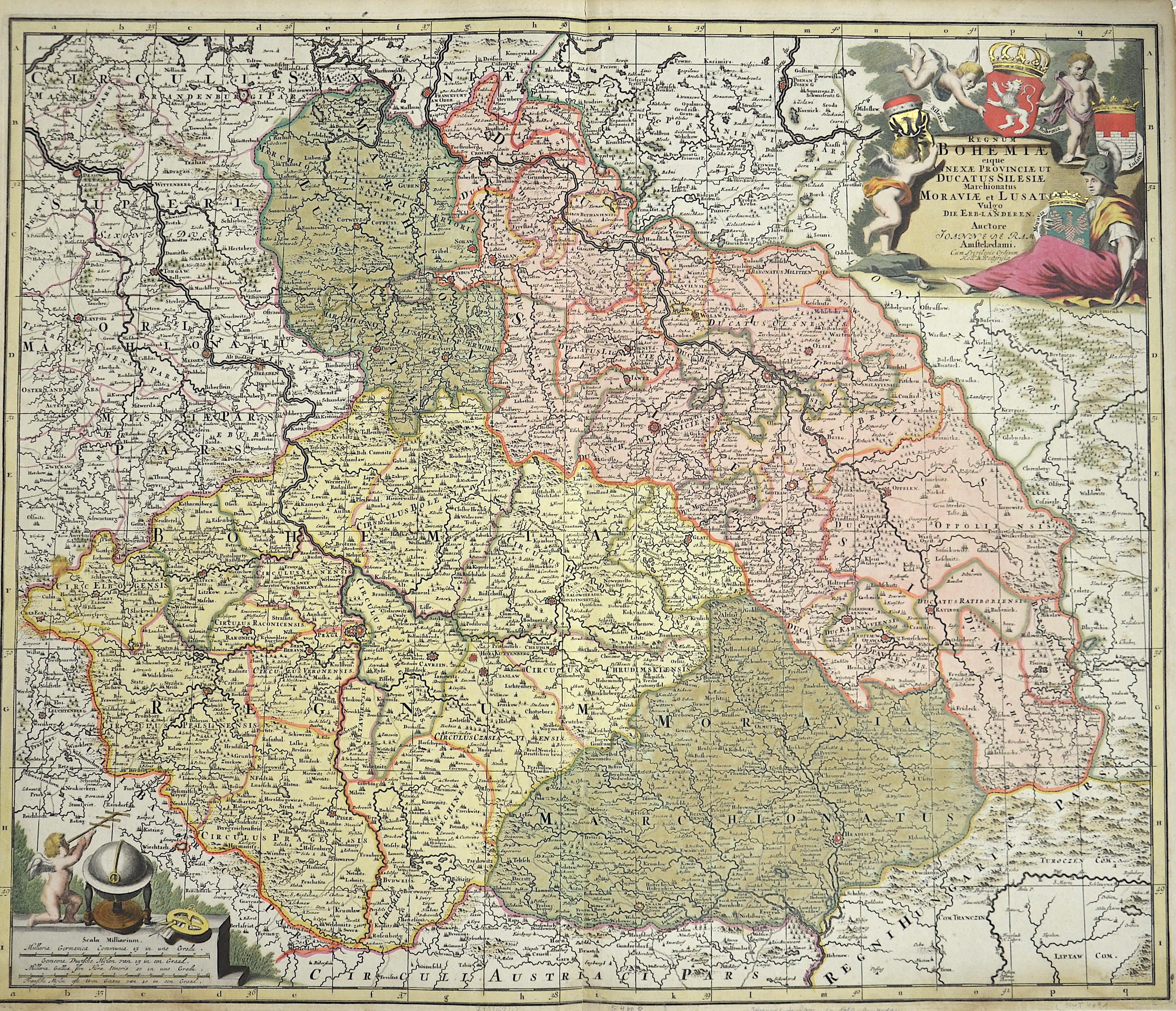 Ram, de  Regnum Bohemiae eique annexae Provinciae et Ducatus Silesiae Marchionatus Moraviae et Lusatiae
