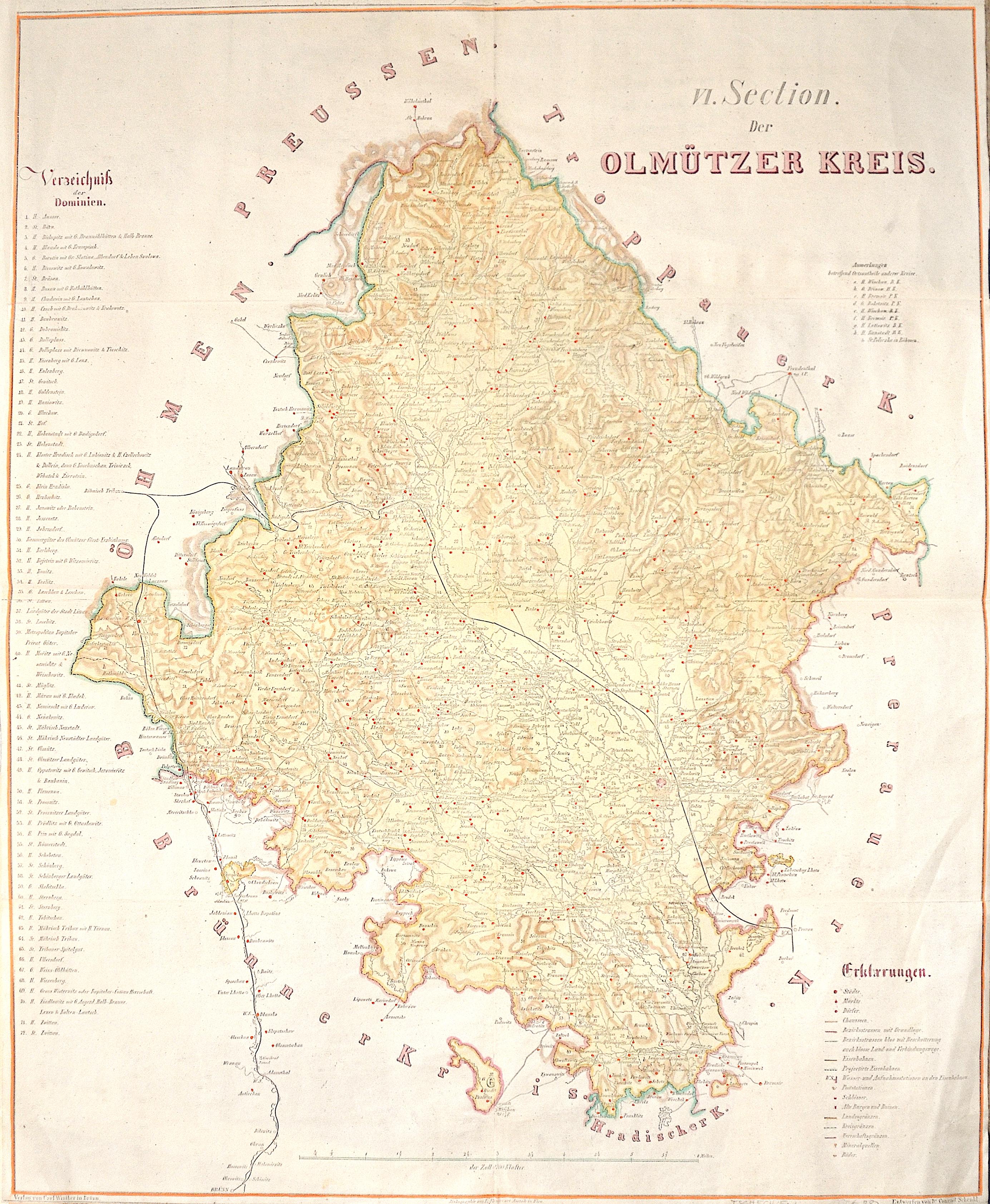 Schenkl  VI. Section. Der Olmützer Kreis.