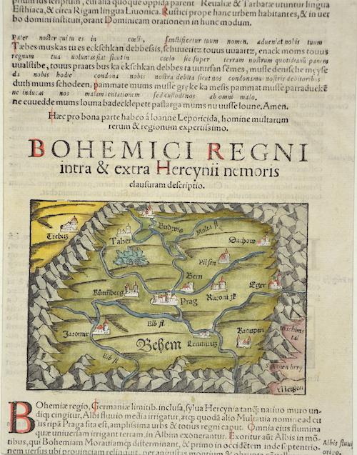 Münster  Von dem Königreich Böhem/unnd was mit der zeit darinn gefunden