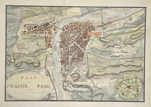 Payne  Plan of Prague / Plan von Prag