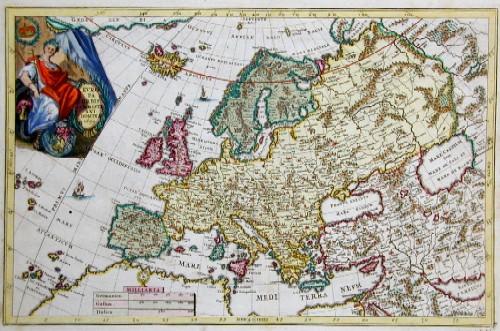 Scherer Heinrich Europa Orbis Christiani Domina 1699