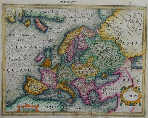 Mercator Gehard Europa