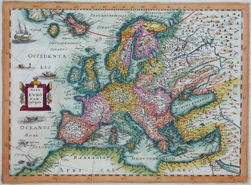 Anonymus  Nova Europae. Descriptio