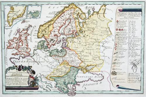 Reilly Franz Johann Joseph Das östliche und nördlihce Europa
