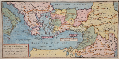 Moll Hermann Scriptural Geography Containing the Places mentionednin the Old and New Testaments