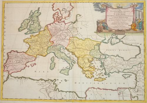 Sanson Nicolas Geographia Synodica, Sive Regionum, Urbium, et Locorum ubi Celebrata Sunt  Concilia..
