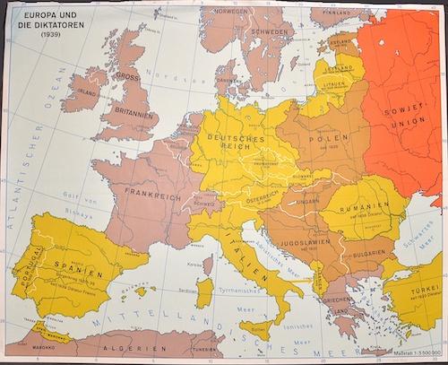 Anonymus  Europa und die Diktatoren (1939)