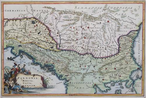 Scherer Heinrich Pannonia, Moesia, Dacia, Ilyricum