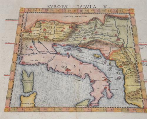 Ruscelli  Europae Tabula V