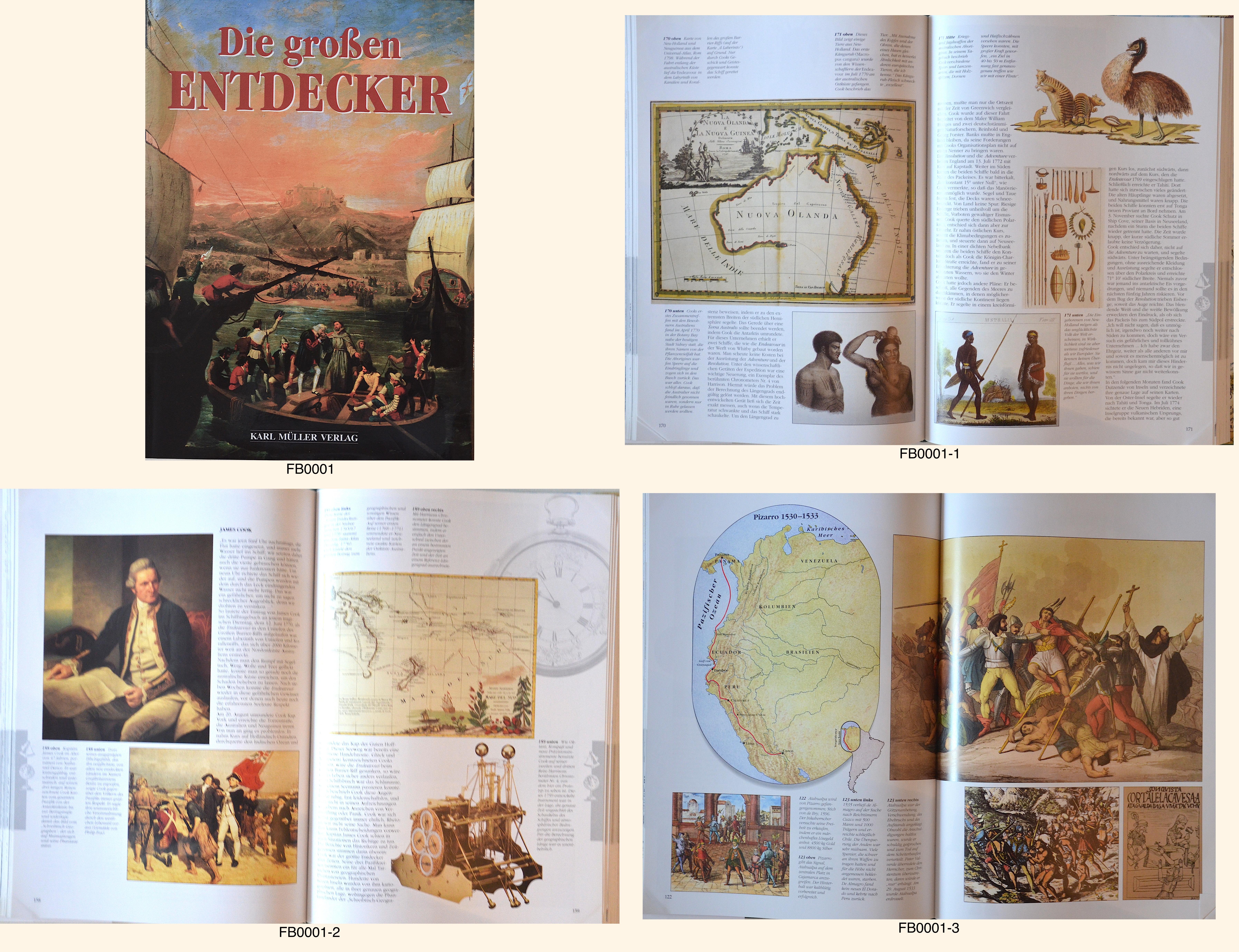Karl Müller Verlag  Die großen Entdecker