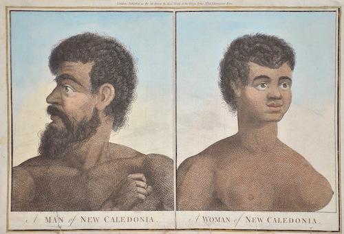 Hogg Alexander Man of New Caledonia/ Woman of New Caledonia