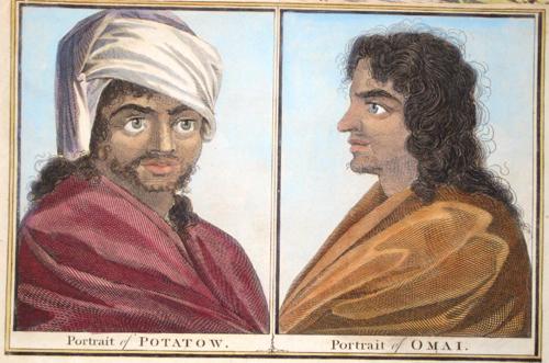 Hogg Alexander Portait of Potatow/ Portrait of Omai