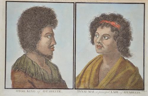 Hogg Alexander Otoo, King of Otaheite/ Tynai – Mai, a principal lady of Othaheite