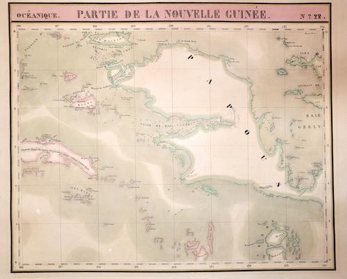 Vandermaelen Philippe Marie Partie de la Nouvelle Guilee No.22
