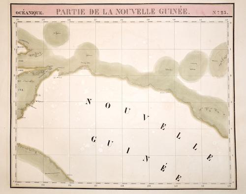 Vandermaelen  Partie de la Nouvelle Guinée. N.23