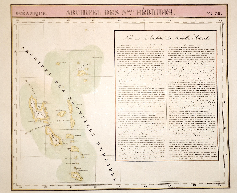 Vandermaelen  Archipel des Nouvelles Hébrides. N.39
