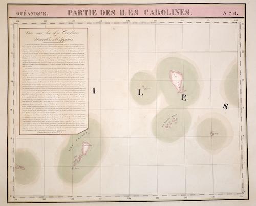 Vandermaelen Philippe Marie Partie des Isles Carolines. N.8