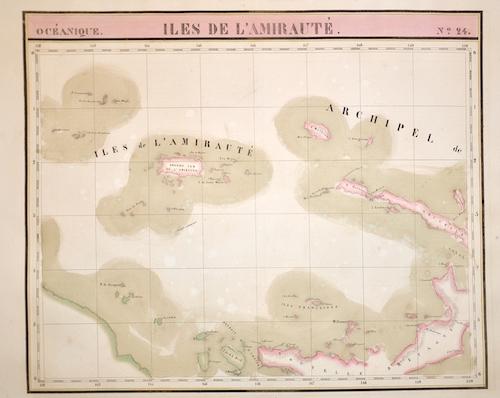 Vandermaelen Philippe Marie Isles de L´Amirauté. N.24