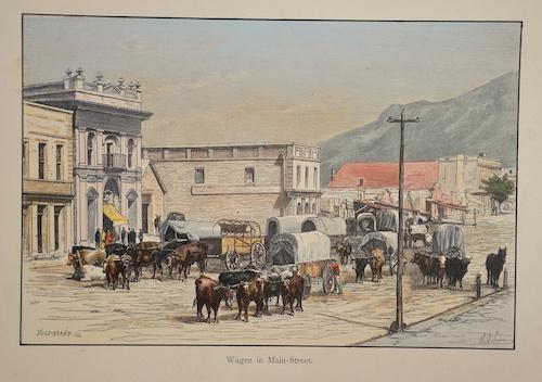 Hildibrand  Wagen in Main- Street