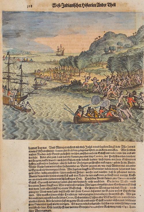 Bry, de Johann Israel & Johann Theodor West-Indianischer Hostorien Ander Theil