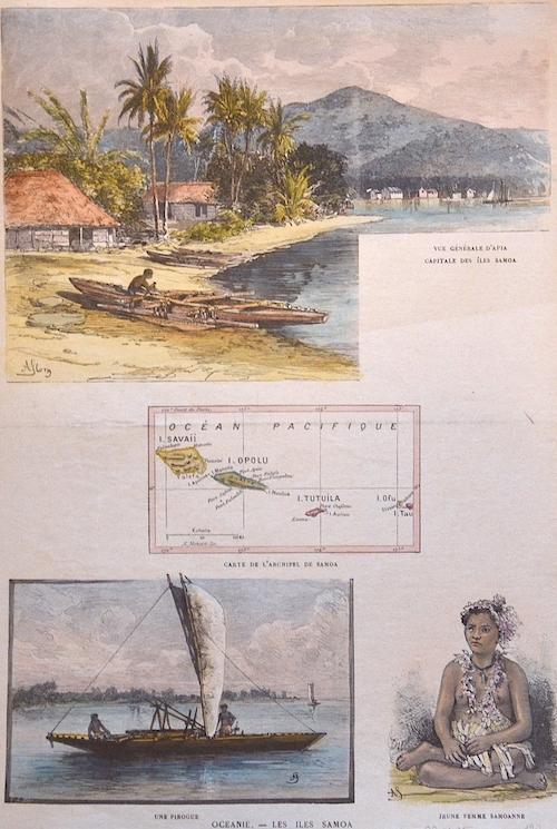Anonymus  Oceanie. – Les Iles Samoa